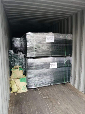 PVC Coated Welded Wire Mesh Fence For Bangkok, Thailand Customer