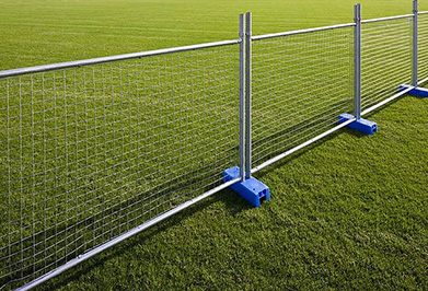 The welded mesh fence application and advantages