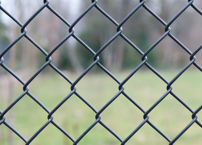 Sports Field Mesh Panel Fencing