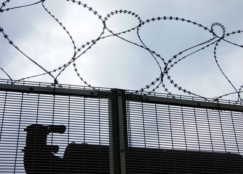 High Security with Razor Wire