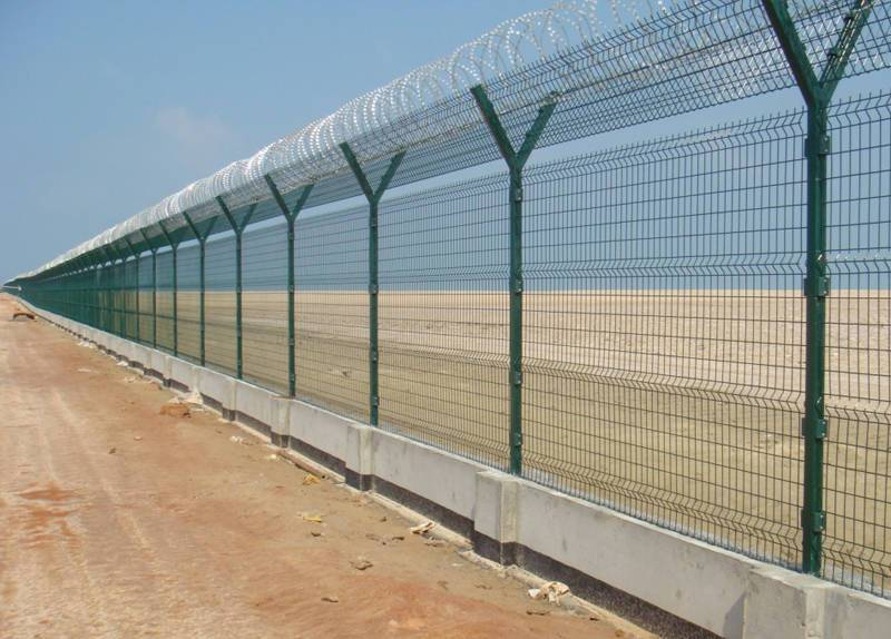 Airport Security Fence