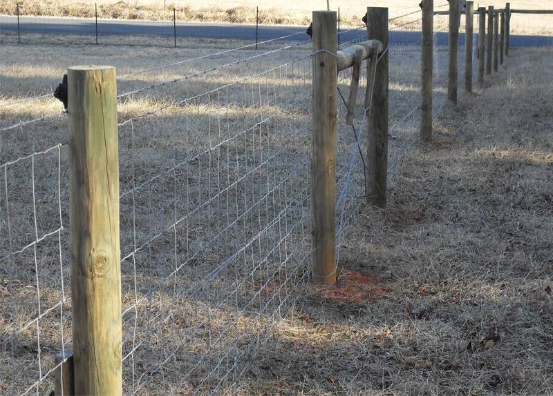 Hinge Knot Field Fence