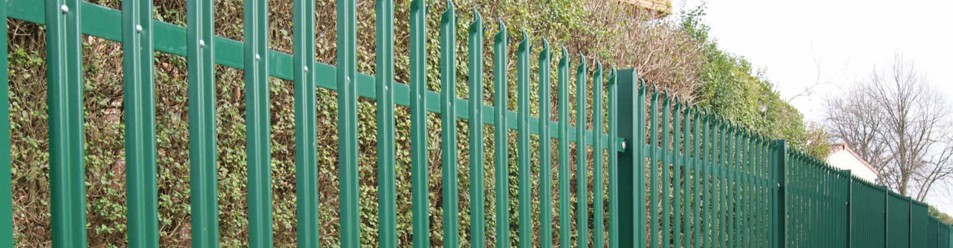 W Section Palisade Fence