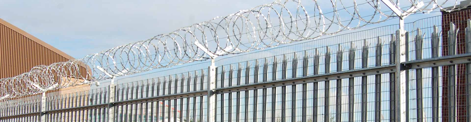 High Security Palisade Fence