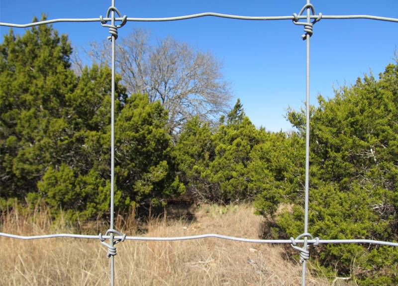 Fixed Knot Deer Fence