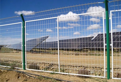 Specification and advantages of fence network for photovoltaic power station